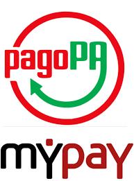 Logo MyPay pagoPA piccolo verticale